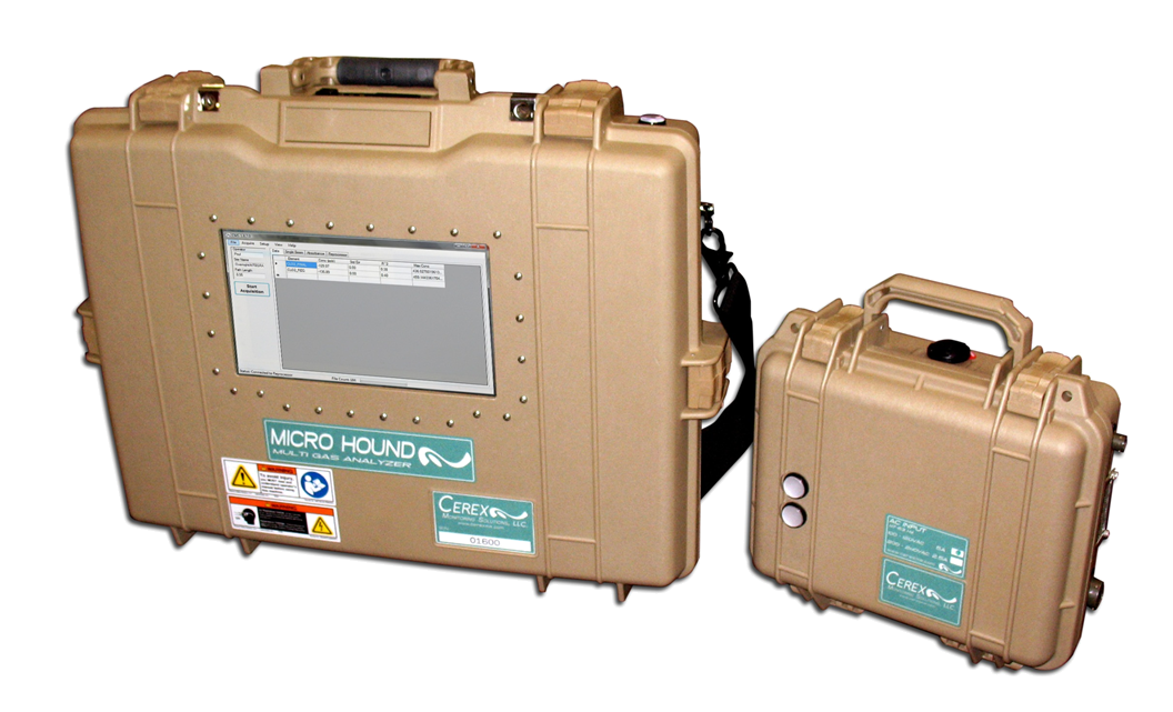 Cerex Micro Hound UVDOAS Multi-Gas Analyzer